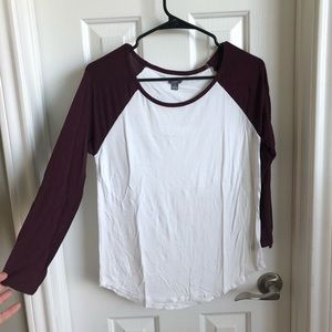 Aerie T-shirt 3/4 length sleeves